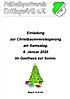 FSV-Christbaumversteigerung am 4. Januar